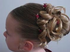 Add bright bows or a neon flower to make your hair look bright and brilliant