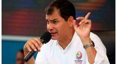 """Correa aseguró que EE.UU. busca desestabilizar a la región y recalcó que el país del norte """"no tiene moral"""" para hablar de Derechos Humanos."""