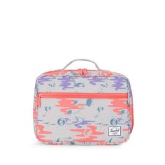 The durable Herschel Pop Quiz™ Lunch Box features a soft and insulated main snack compartment that easily wipes clean, making it the perfect cafeteria companion