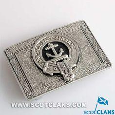 Gray Clan Crest Belt