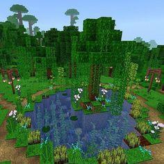 Fortnite bilder Minecraft pond Minecraft pond How Baby Monitors Work One of Minecraft World, Villa Minecraft, Minecraft Garden, Minecraft Building Guide, Minecraft Structures, Minecraft Cottage, Cute Minecraft Houses, Minecraft Plans, Minecraft House Designs