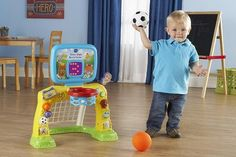 38 Awesome Toys for 1 Year Old Boys - Gifts They'll Obsess Over - Toy Notes 38 Awesome Toys for 1 Year Old Boys – Gifts They'll Obsess Over – Toy Notes Toddler Sports, Sports Games For Kids, Games For Toddlers, Sports Toys, Toys For Boys, Gifts For Boys, Toddler Gifts, Toddler Toys, Talking Toys