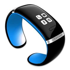 TERA L12S Bluetooth Smart OLED Touch Screen Bracelet Wristband Watch Cell Phone Mate Pedometer Blue with Steps Tracking Vibration Massage Playing Music Recording Call Reminder Functions - http://www.computerlaptoprepairsyork.co.uk/mobile-phones/tera-l12s-bluetooth-smart-oled-touch-screen-bracelet-wristband-watch-cell-phone-mate-pedometer-blue-with-steps-tracking-vibration-massage-playing-music-recording-call-reminder-functions