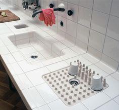59 Fantastic Modern Mediterranean Home Design Ideas: Noviembre 2011 Layout Design, Küchen Design, Tile Design, House Design, Design Elements, Design Ideas, Kitchen Pantry, New Kitchen, Kitchen Dining