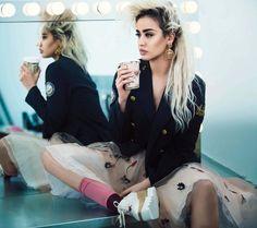 Nina Abdel Malak in Harper's Bazaar Arabia April 2016 by Silja Magg