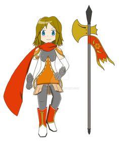 Madoka Magica OC: Natsuki Mori by Lordy-Oh