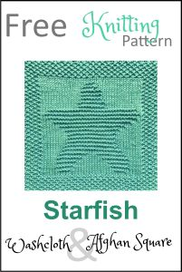 Free knitting pattern for seashell washcloth or afghan square. Lots of other free nautical afghan square patterns available too! Knitted Dishcloth Patterns Free, Knitting Squares, Knitted Washcloths, Knit Dishcloth, Knitting Charts, Easy Knitting, Baby Knitting Patterns, Loom Knitting, Knitting Needles