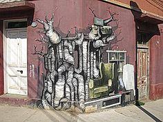 Street Art Valparaíso