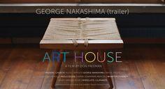 ART HOUSE: NAKASHIMA. George Nakashima house and studio, New Hope Pennsylvania.