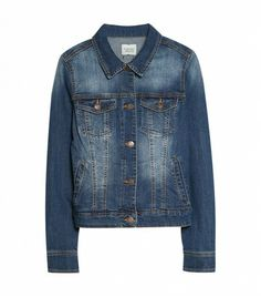@Who What Wear - Mango Dark Wash Denim Jacket ($70)  ​A denim jacket is a great way tie your look together.