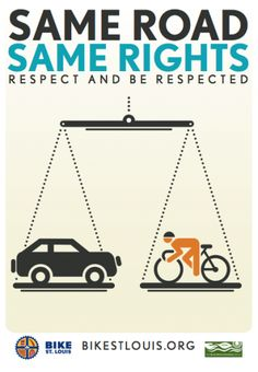 "Same Road = Same Rights #KEEN #recess From my city! ""Bicycle rights!"""