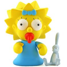 "Toy103 "" Maggie"" by Matt Groening / Simpsons Series for Kid Robot (2008) #Toy"