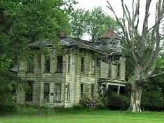 Old and Forgotten - Near Painesville on the Lake, Ohio.