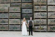Emma and Adam's Simple Summer Farm Wedding. By Lucabella Wedding Photography