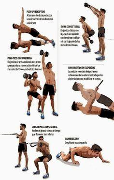 ENTRENAMIENTOS QUEMACALORÍAS | Aptitud Fitness