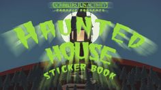Halloween is coming! Book Trailer for Haunted House Sticker Book Book Trailers, Stickers, Halloween, Tv, Books, Movie Posters, Movies, House, Libros