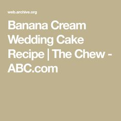 banana cream wedding cake the chew 30 best limone limoncello images on 11059