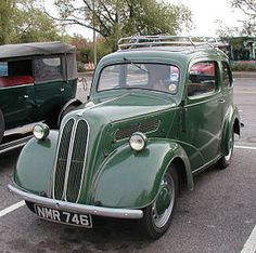 Ford Popular – Mine had a & a fog-horn from a ferry-boat! The neighbours were long-suffering when I drove home in the early morning! Ford Motor Company, Car Ford, Ford Trucks, Retro Cars, Vintage Cars, Ford Anglia, Classic Cars British, Classic Motors, Old Fords