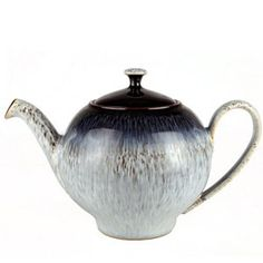 Denby Halo teapot, love this shape and the glaze is beautiful. #form