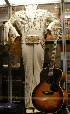 from the Las Vegas period                                       Costumes and Awards of Elvis Presley at Graceland, Memphis, Tennessee  -