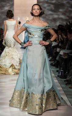 Georges Chakra Couture Spring 2015 Fashion Show