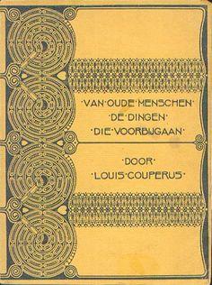Boek #20 - 2015. Van oude menschen, de dingen, die voorbijgaan...; Louis Couperus