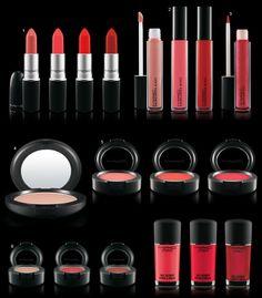 Maquiagem MAC Red, Red, Red!