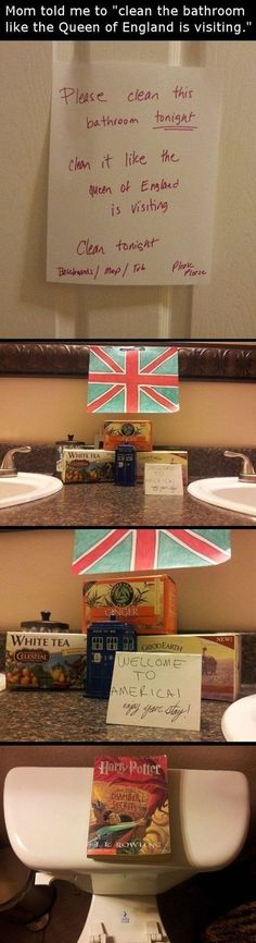 This royal cleanup. | The 31 Most Smartass Things To Ever Happen