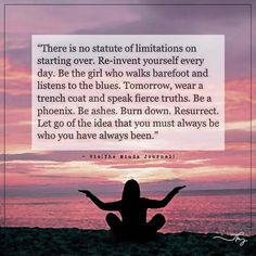There is no statute of limitations on starting over. - http://themindsjournal.com/there-is-no-statute-of-limitations-on-starting-over/