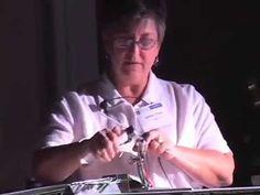 Heather Trimlett Makes a Fancy Ribbon Cane - YouTube