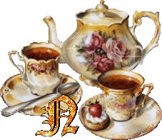 My British Mom and her Mom insisted tea be served in fine China pot and tea cups.I prefer mine in a BIG ceramic pot with tea in a mug.whatever way it is served tea is a warm, loving treat alone or with friends. Vintage Tea, Vintage Roses, Cafe No Bule, Tee Kunst, Cute Alphabet, Tea Art, My Tea, High Tea, Afternoon Tea