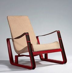Jean Prouvé, fauteuil Cité, 1930, ©DR