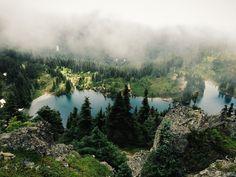 Rainier Eunice Lake Art Print by Kevin Russ #landscape
