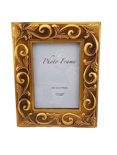 Party plus picture frames 5x7 Gold And Bronze Picture Frame $3 each