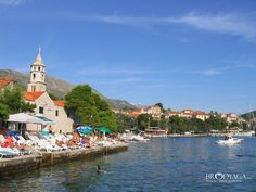 Cavtat is a town in the Dubrovnik-Neretva County of Croatia. It is on the Adriatic Sea coast 15 km south of Dubrovnik and is the centre of the Konavle municipality.