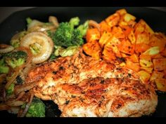 Pan-Roasted Chicken & Vegetables Roasted Butternut Squash Easy