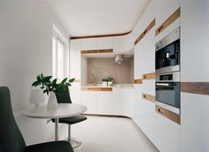 97 veces he visto estas magníficas cocinas blancas. Kitchen Colors, Kitchen Decor, Cuisines Design, Kitchen Styling, White Wood, Modern Decor, Home Kitchens, Small Spaces, Interior Decorating