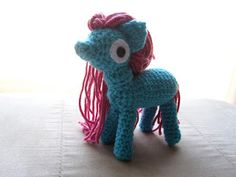 xX The Catalope Blogs Xx: Pony Amigurumi Doll