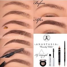 Gorgeous eyebrow pictorial