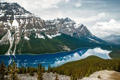 Peyto Lake - Spring by Paul Vincent Dimaranan on 500px
