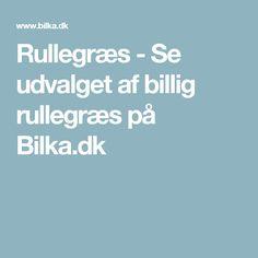 Rullegræs - Se udvalget af billig rullegræs på Bilka.dk