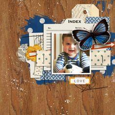 wonderful layout created by MlleTerraMoka featuring A Wonderful Day by Sahlin Studio