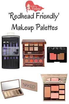 Makeup Palettes For Redheads – How to be a Redhead
