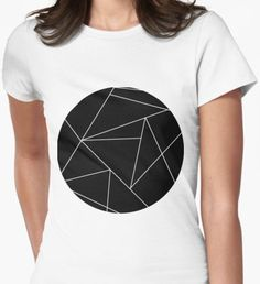 Invert origami Women's Fitted T-Shirt Origami, Shirt Designs, Minimalist, T Shirts For Women, Mens Tops, Things To Sell, Color, Style, Fashion