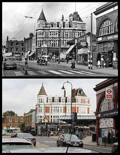 Kentish Town station | by Tetramesh Junction Road, Camden Road, London History, London Transport, Hill Station, Vintage London, North London, Historical Photos, Geography