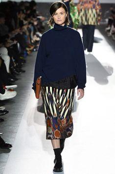 Dries Van Noten Fall 2017 Ready-to-Wear Fashion Show - Trish Goff