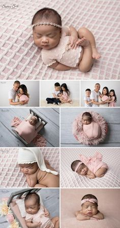 13 day old Londyn and her pretty pink studio newborn photo shoot with Sunny S-H Photography Winnipeg