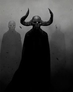 so cool and creepy! Fantasy Kunst, Dark Fantasy Art, Dark Art, Fantasy Rpg, Arte Horror, Horror Art, Creepy Art, Scary, Satanic Art