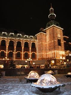 Christmas in Tivoli Gardens - visiting is a must if you are in Copenhagen in December or in the summer :)