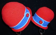Summer Hats Mommy and Me Matching Hats Matching by berly731, $36.00